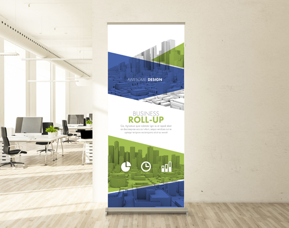 pull up banners Kent